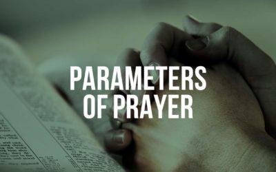 Parameters of Prayer